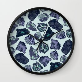 Rock collection 2 Wall Clock