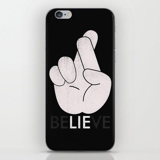 Finger Crossed iPhone & iPod Skin