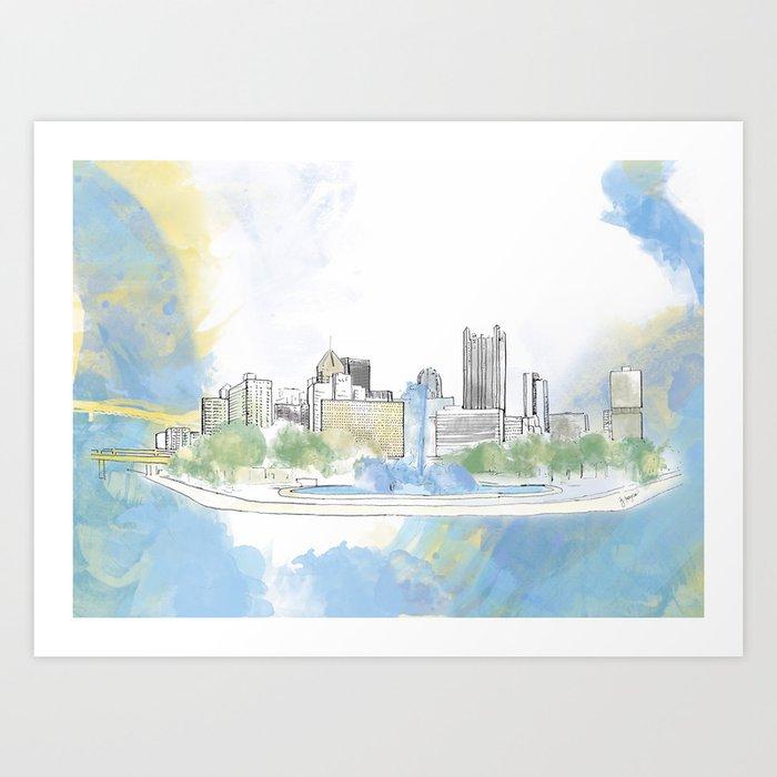 Pittsburgh Point Kunstdrucke
