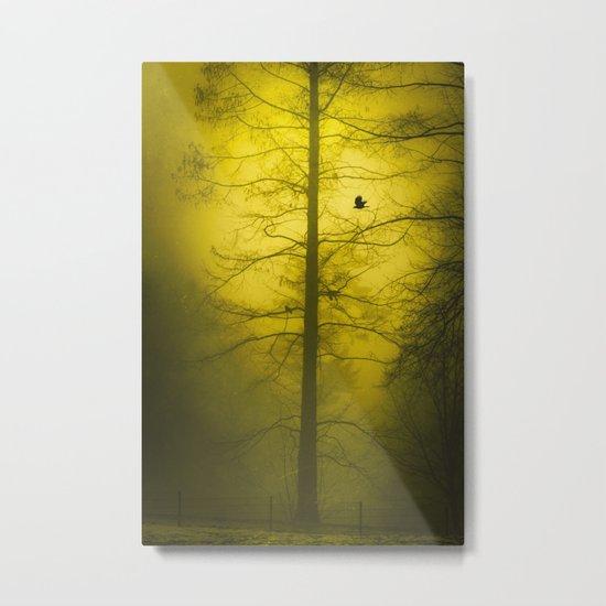 amarillo - gelb - yellow Metal Print