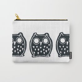 3 Owls Carry-All Pouch