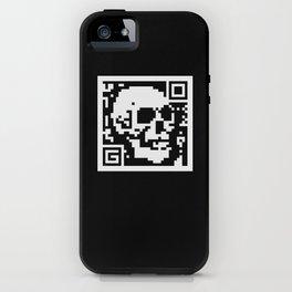 QR- Dead iPhone Case