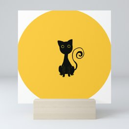Spooky Kitty Mini Art Print