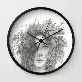 Brigid, Celtic Triple Goddess Wall Clock