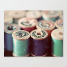 spools Canvas Print