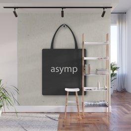 asymp-tote Wall Mural