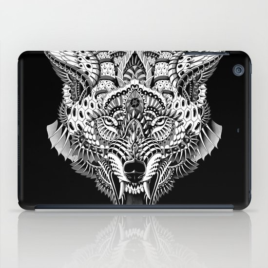Wolf Head iPad Case