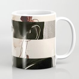 Egon Schiele's Self Portrait & Anthony Perkins Coffee Mug