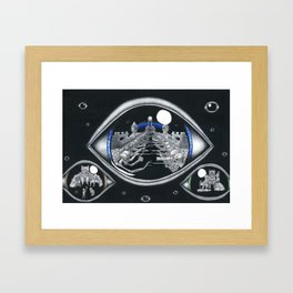 The eye of Truth Framed Art Print
