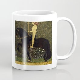 Gustav Klimt - Golden Rider Coffee Mug