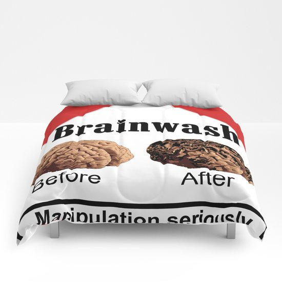 A pack of Brainwash! Comforters