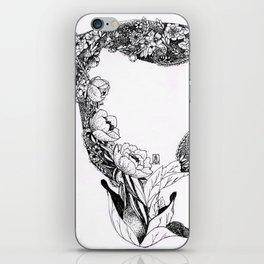 Anatomy Series: Uterus Flowers iPhone Skin