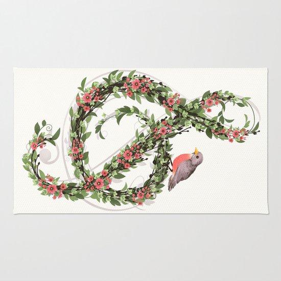 Robin's Song Rug