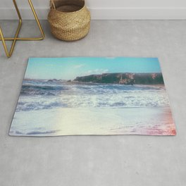 California Sunshine Waves Rug