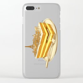 Hungry for Travels: Slice of Paris Clear iPhone Case