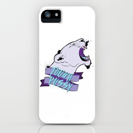 Tough Pussy iPhone Case