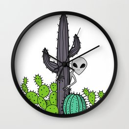 Desert Eyes Wall Clock