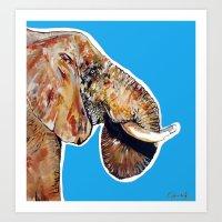 Elephan 1 Art Print