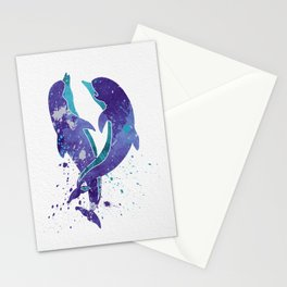 Dolphins 005 Stationery Cards