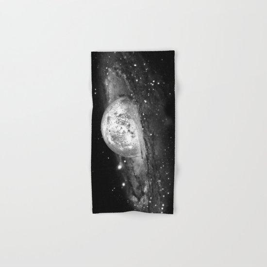 Moon and Galaxy Hand & Bath Towel