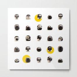 stoneheads 002 Metal Print