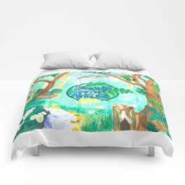 Medilludesign Ecotherapy Forest 2 Comforters