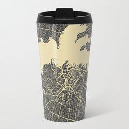 Auckland Map Travel Mug