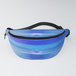 Ocean abstract - blue beach peaceful Fanny Pack
