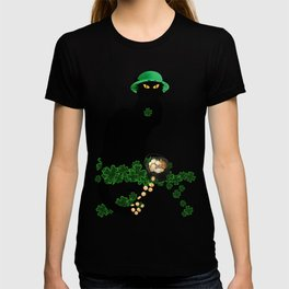 Le Chat Noir - St Patrick's Day T-shirt