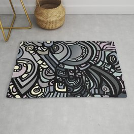 ROBOTS OF THE WORLD Rug