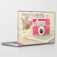 camera Laptop & iPad Skins featuring Camera by Angie Ravelo Art & Photography