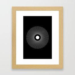 FIAT LUX Framed Art Print