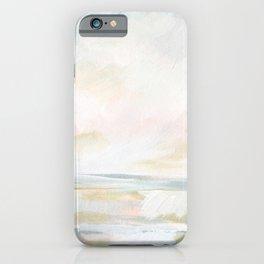Golden Hour - Pastel Seascape iPhone Case