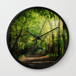 Fall Splendor Wall Clock