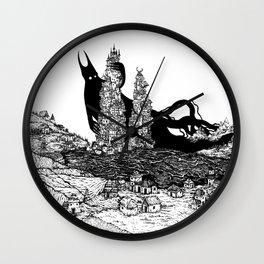 Sodom and Gommorah Wall Clock