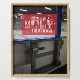 Hockey Passion Serving Tray