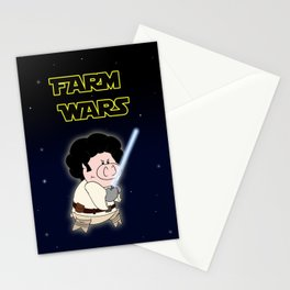 Farm Wars - Luke edition Stationery Cards