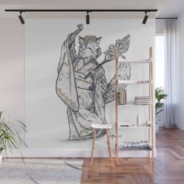 Tiny Dancer - Sakura Fox Wall Mural