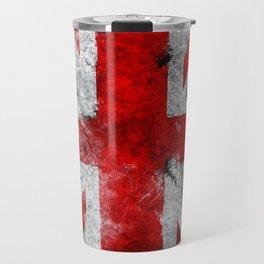 Great Britain grunge flag Travel Mug