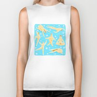 nudes Biker Tanks featuring NUDES! by Ciara Gay