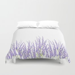 Lavender in the Field Duvet Cover