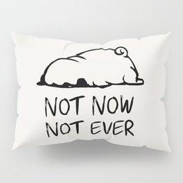 Not Now Not Ever Pillow Sham