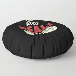 Shuffle Up And Deal Floor Pillow