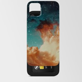 Seeing a City in the Clouds iPhone Card Case