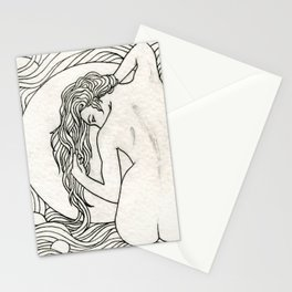 Hair Nouveau Stationery Cards