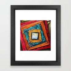 Full Frame of Nothing Framed Art Print