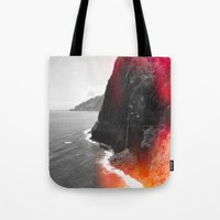 portugal Tote Bags featuring Madeira Portugal  by Alex Marcano