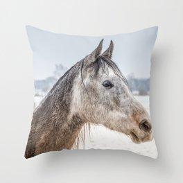 Portrait Amigo Throw Pillow