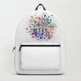 Barcelona Watercolor Backpack