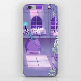 Witch' work space - Witchcraft collection iPhone Skin